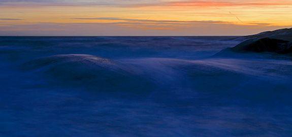 Svøpet av havet