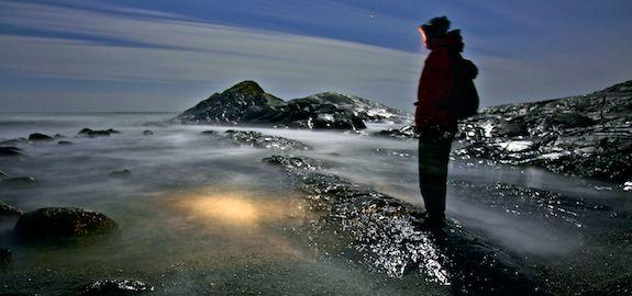 Måneskinnstur på Saltstein